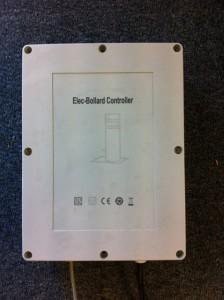Bollard control box